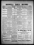 Roswell Daily Record, 02-04-1909 by H. E. M. Bear