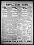Roswell Daily Record, 02-06-1909 by H. E. M. Bear