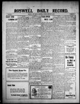 Roswell Daily Record, 02-10-1909 by H. E. M. Bear