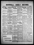 Roswell Daily Record, 02-11-1909 by H. E. M. Bear