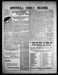 Roswell Daily Record, 02-12-1909 by H. E. M. Bear