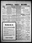 Roswell Daily Record, 02-13-1909 by H. E. M. Bear