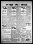 Roswell Daily Record, 02-15-1909 by H. E. M. Bear