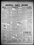 Roswell Daily Record, 02-16-1909 by H. E. M. Bear