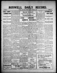 Roswell Daily Record, 02-18-1909 by H. E. M. Bear