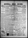 Roswell Daily Record, 02-22-1909 by H. E. M. Bear
