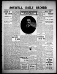 Roswell Daily Record, 02-23-1909 by H. E. M. Bear