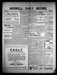 Roswell Daily Record, 03-09-1909 by H. E. M. Bear