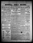 Roswell Daily Record, 03-17-1909 by H. E. M. Bear