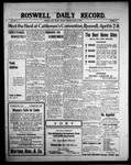 Roswell Daily Record, 03-30-1909 by H. E. M. Bear