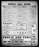 Roswell Daily Record, 04-07-1909 by H. E. M. Bear