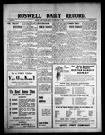 Roswell Daily Record, 04-09-1909 by H. E. M. Bear