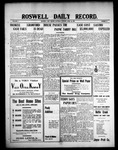 Roswell Daily Record, 04-10-1909 by H. E. M. Bear
