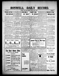 Roswell Daily Record, 04-12-1909 by H. E. M. Bear