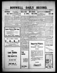 Roswell Daily Record, 04-14-1909 by H. E. M. Bear