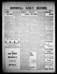 Roswell Daily Record, 04-15-1909 by H. E. M. Bear