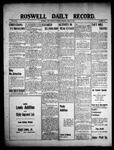 Roswell Daily Record, 04-17-1909 by H. E. M. Bear