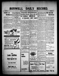 Roswell Daily Record, 04-21-1909 by H. E. M. Bear