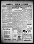 Roswell Daily Record, 04-22-1909 by H. E. M. Bear