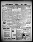 Roswell Daily Record, 04-24-1909 by H. E. M. Bear