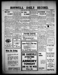 Roswell Daily Record, 04-26-1909 by H. E. M. Bear