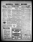 Roswell Daily Record, 04-27-1909 by H. E. M. Bear