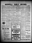 Roswell Daily Record, 04-28-1909 by H. E. M. Bear