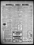 Roswell Daily Record, 04-29-1909 by H. E. M. Bear