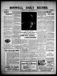 Roswell Daily Record, 05-03-1909 by H. E. M. Bear
