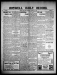 Roswell Daily Record, 05-05-1909 by H. E. M. Bear