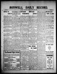 Roswell Daily Record, 05-06-1909 by H. E. M. Bear