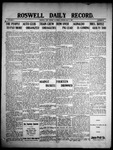 Roswell Daily Record, 05-08-1909 by H. E. M. Bear