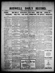 Roswell Daily Record, 05-10-1909 by H. E. M. Bear