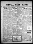 Roswell Daily Record, 05-12-1909 by H. E. M. Bear
