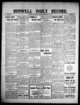 Roswell Daily Record, 05-13-1909 by H. E. M. Bear