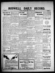 Roswell Daily Record, 05-14-1909 by H. E. M. Bear
