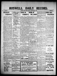 Roswell Daily Record, 05-17-1909 by H. E. M. Bear