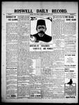 Roswell Daily Record, 05-18-1909 by H. E. M. Bear