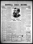 Roswell Daily Record, 05-19-1909 by H. E. M. Bear