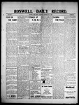 Roswell Daily Record, 05-20-1909 by H. E. M. Bear