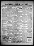 Roswell Daily Record, 05-26-1909 by H. E. M. Bear