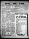 Roswell Daily Record, 05-27-1909 by H. E. M. Bear