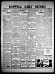 Roswell Daily Record, 05-31-1909 by H. E. M. Bear