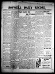 Roswell Daily Record, 06-01-1909 by H. E. M. Bear