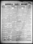 Roswell Daily Record, 06-03-1909 by H. E. M. Bear