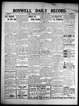 Roswell Daily Record, 06-04-1909 by H. E. M. Bear
