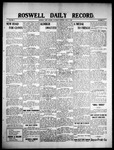 Roswell Daily Record, 06-05-1909 by H. E. M. Bear