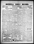 Roswell Daily Record, 06-08-1909 by H. E. M. Bear