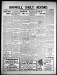 Roswell Daily Record, 06-09-1909 by H. E. M. Bear