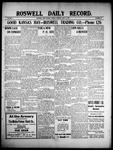 Roswell Daily Record, 06-15-1909 by H. E. M. Bear